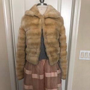Sisley fur jacket